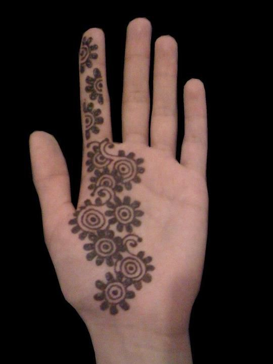 Simple Mehndi Patterns For Beginners : Simple arabic mehendi design collection includes images of