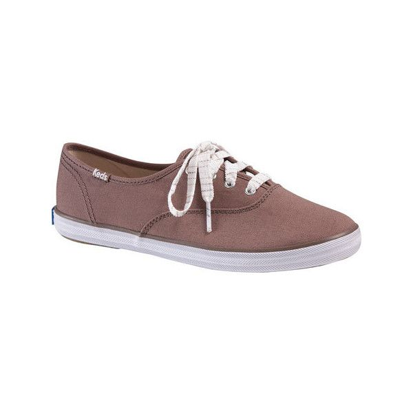 9af2eb652f2 Women s Keds Champion Oxford CVO Sneaker - Dark Taupe Canvas Casual ( 45) ❤  liked on Polyvore featuring shoes and sneakers
