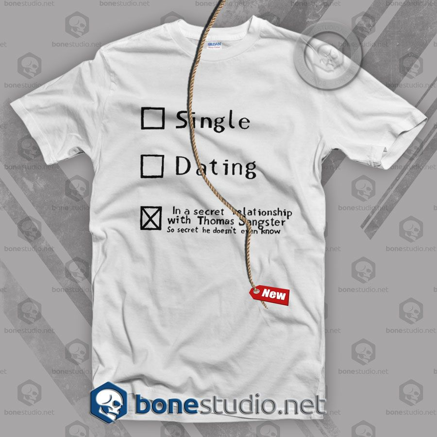Thomas Brodie Sangster Single T Shirt  Get This @ https://www.bonestudio.net/product-category/quote-tshirts/page/35/