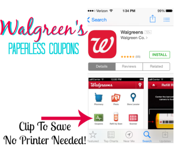 WalgreensPaperless Shop No need to clip or print coupons