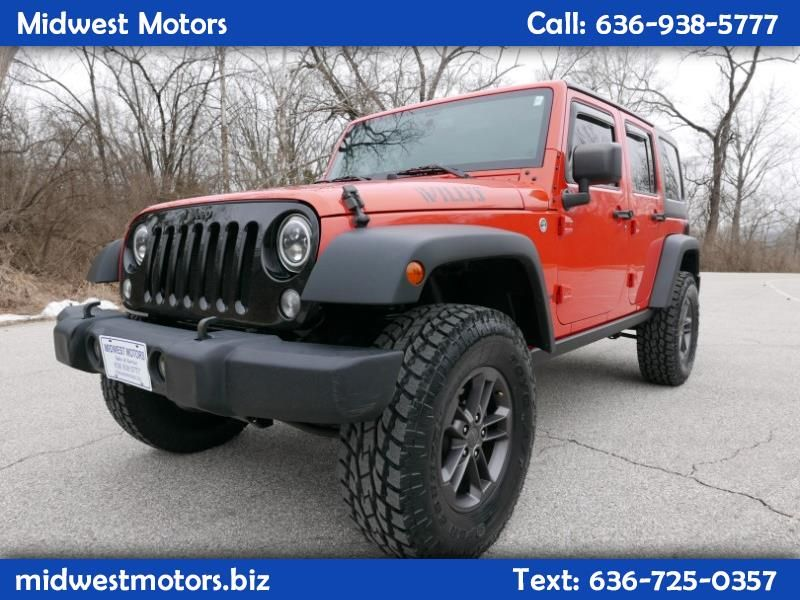 Used 2015 Jeep Wrangler Unlimited Sport 4WD for Sale in ST