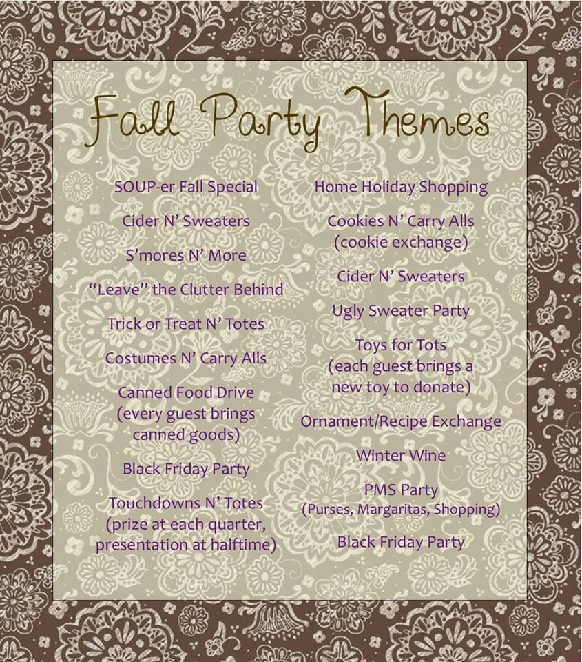fall catalog hits the website in two days book a party so you can