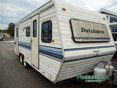 Used 1990 Dutchmen RV Classic 22FD Travel Trailer at