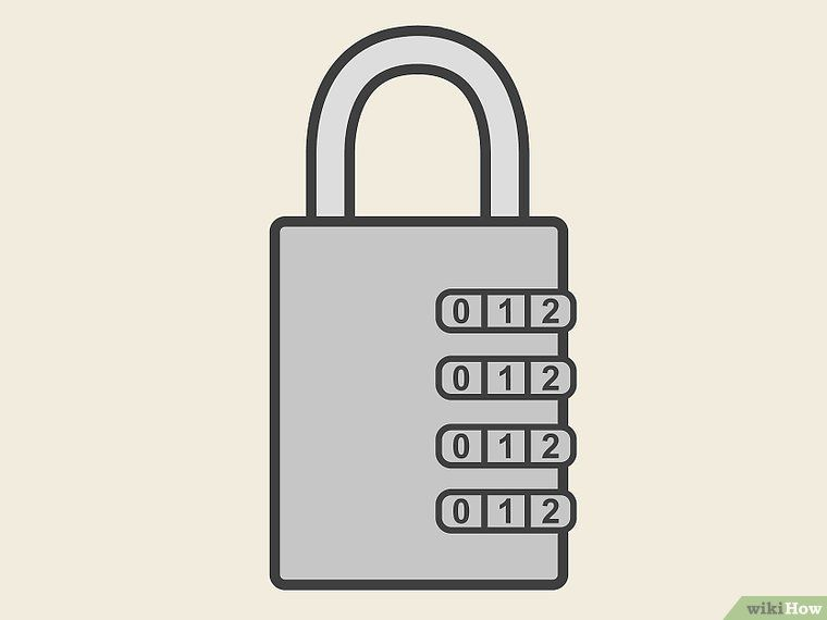 How To Open A Combination Lock Combination Locks Lock Combination