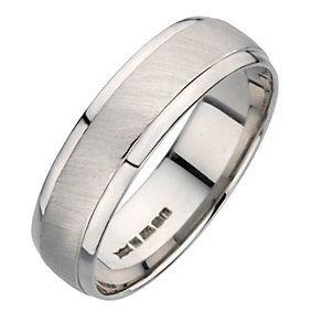 d19c6df8f637d Palladium 950 6mm matt & polished ring - Product number 8137013 ...