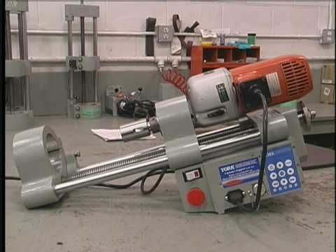 York 4-14ET line boring Machine - YouTube | Project Ideas in