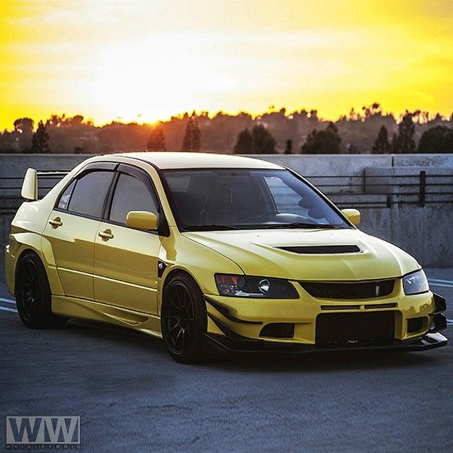 Lancer Evo 9: Check Out @revolutionix's Amazing Evo 9. PC: @wrigleywrig