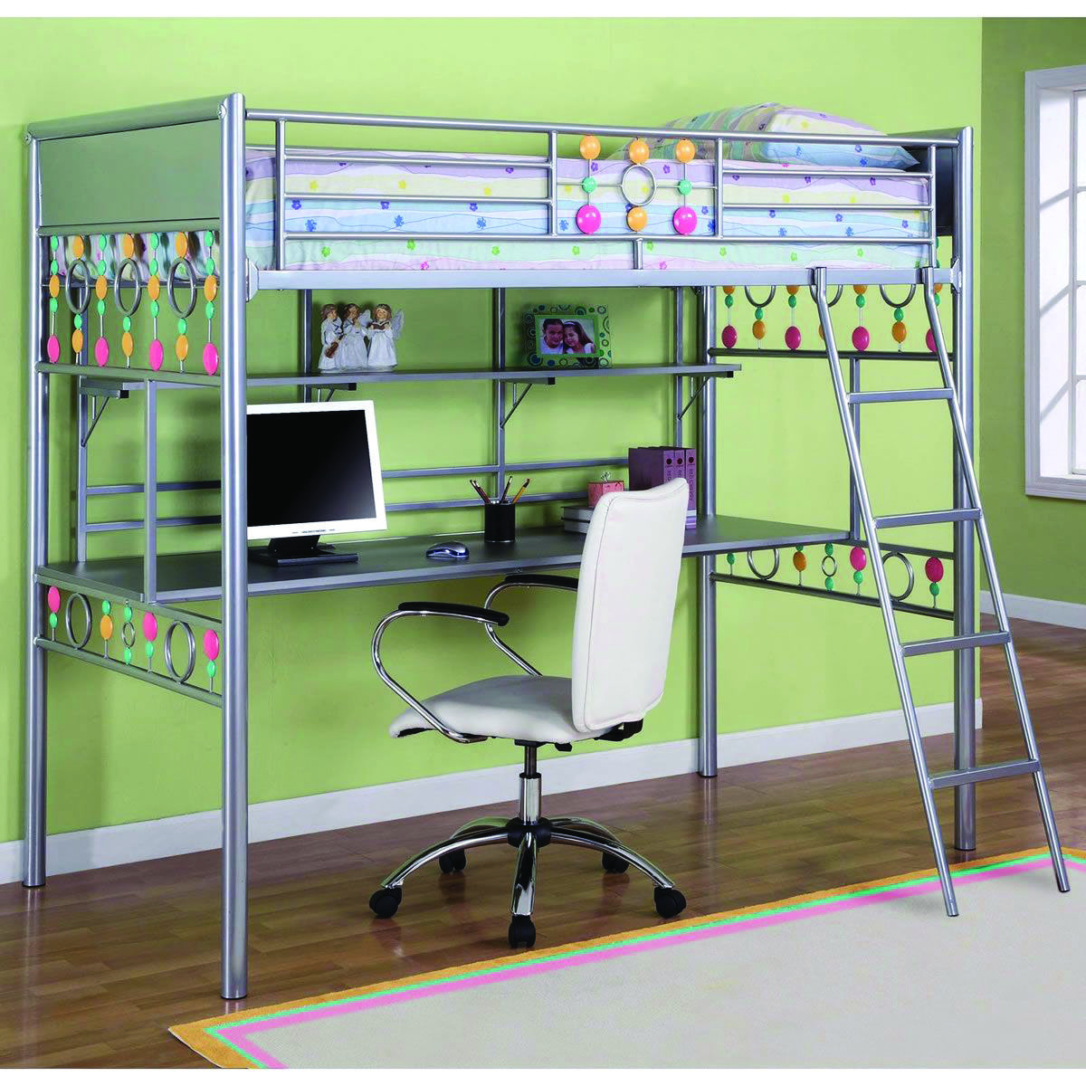 8 Loft Bedroom Ideas For Your Tiny Bed Room Homes Tre Build A Loft Bed Bunk Bed With Desk Bunk Beds With Stairs Bunk bed with desk under