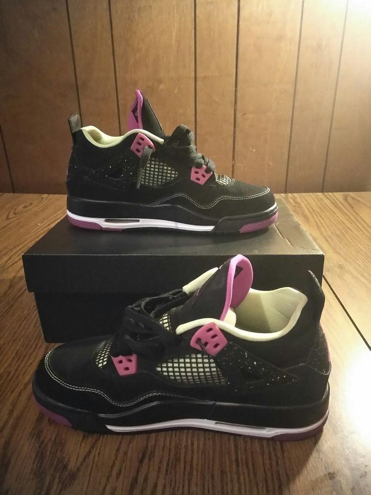 big sale 0f01f 1fd5b Nike Air Jordan 4 Retro 30th Black Fuchsia Size 5.5y           fashion   clothing  shoes  accessories  kidsclothingshoesaccs  boysshoes (ebay link)