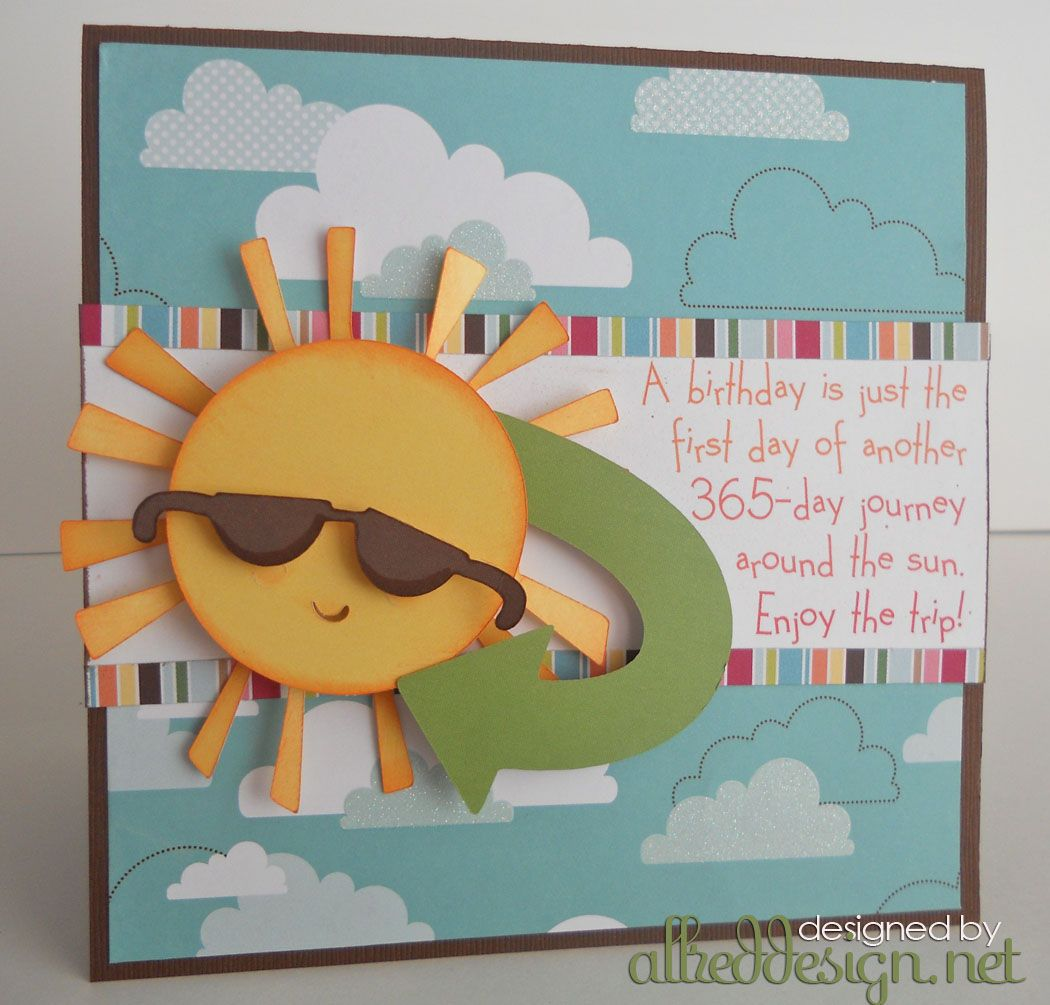 cricut belated birthday cards ideas and the bright American