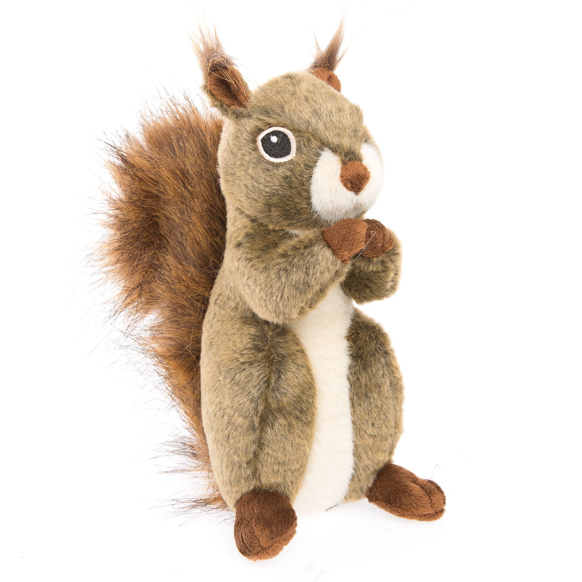 Toys R Us Pets Squirrel Dog Toy Plush Squeaker Size Large