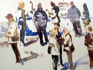 Pintar a la Acuarela: EXPOSICIÓN Y CHARLA DE JOAQUÍN UREÑA