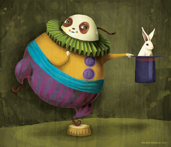 circus illustration by wilmer murillo