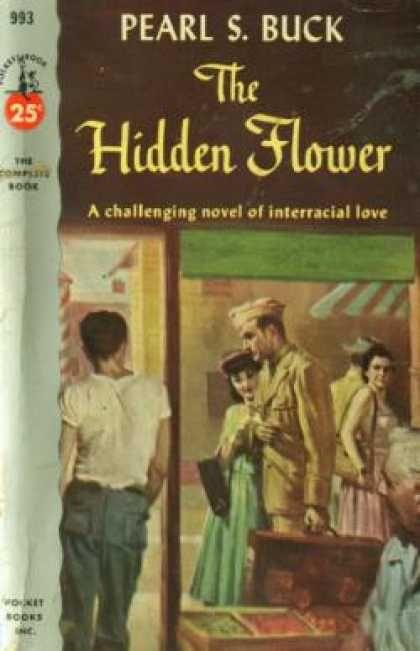 Pocket Books - The Hidden Flower - Pearl S. Buck