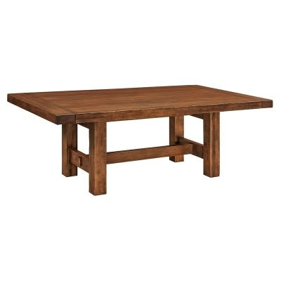 Trestle Dining Table Wellington Furniture Made In Usa Builder74