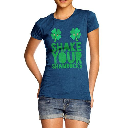 Women's Shake You...  http://twistedenvy.com/products/womens-shake-your-shamrocks-t-shirt?utm_campaign=social_autopilot&utm_source=pin&utm_medium=pin   Twisted Envy unique gift ideas and personalised gifts, as well as inspirational art    #Twistedenvy