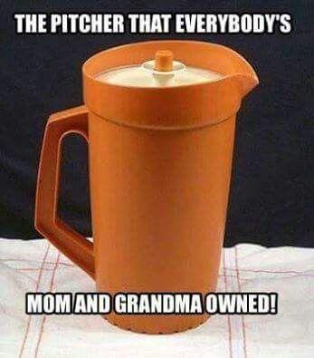 Tupperware Pitcher