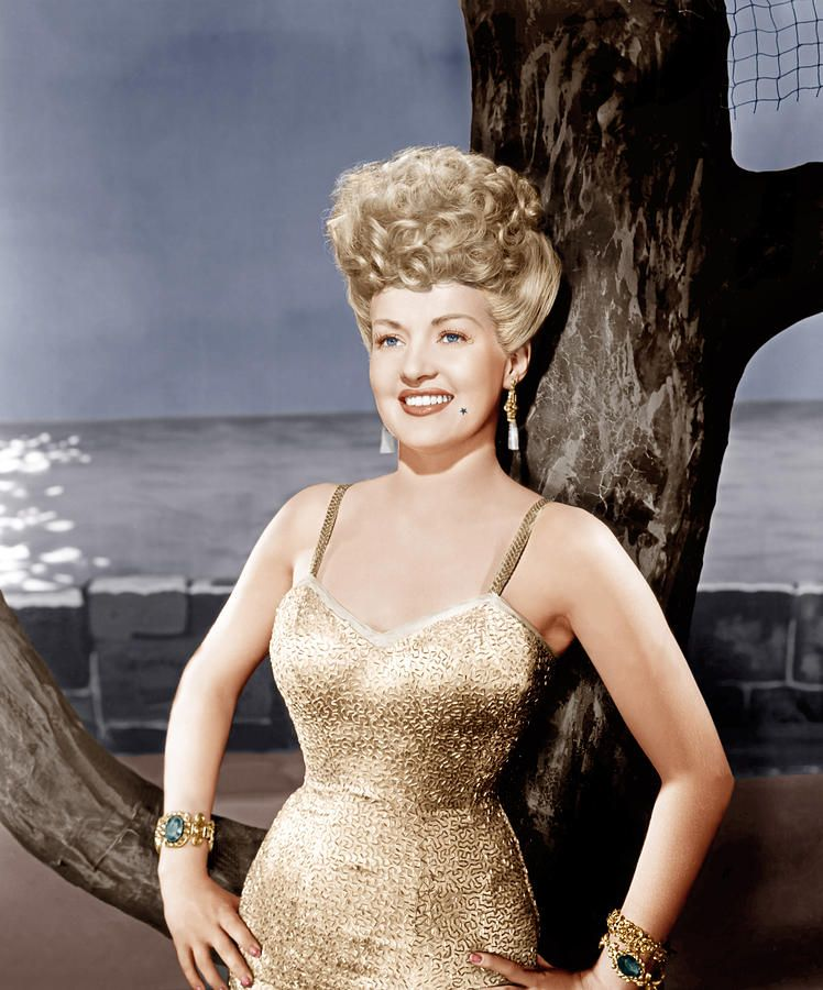 betty grable measurements