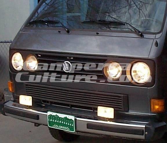 VW T25 T3 South African Headlight Grill/Spot Light/Badge Set