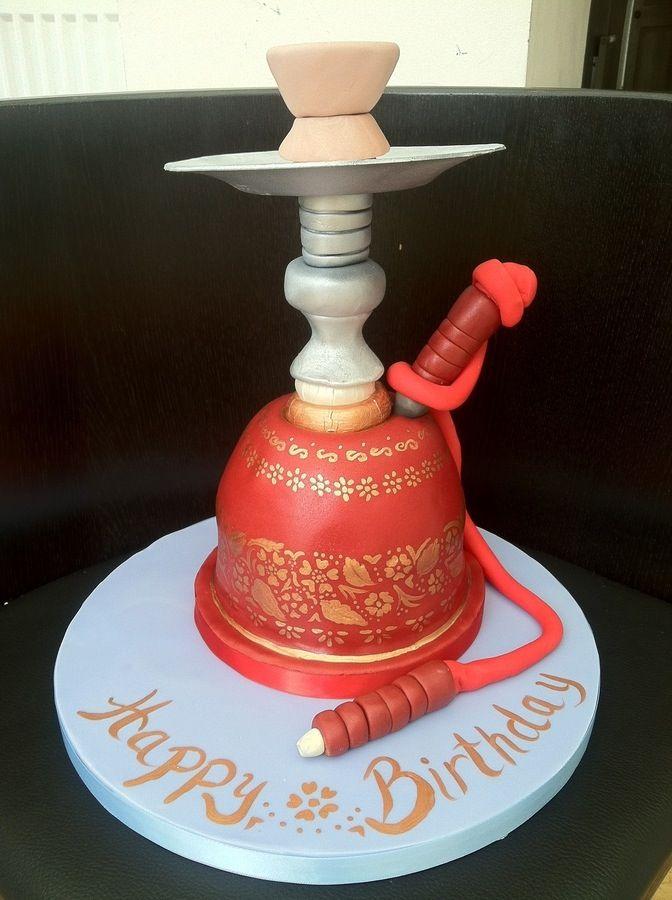 Sheesha Cake Hookah Hookah Pipes Themed Cakes