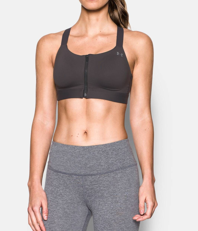 11bb6cb9e8009 Women s Armour® Shape High Impact Zip Sports Bra