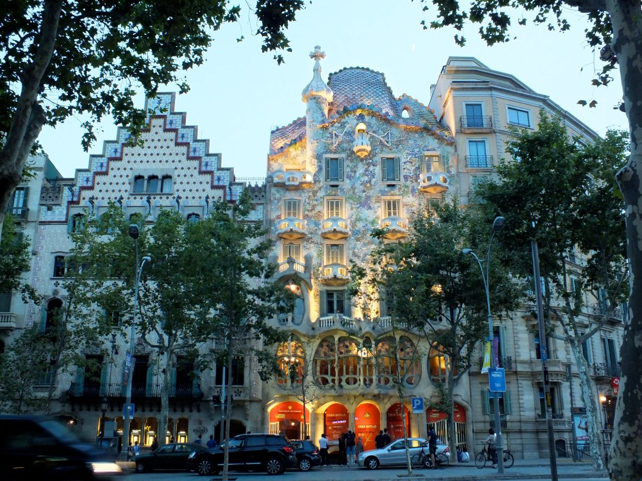 """step-out-into: """" Gaudi House, Barcelona - Follow for more like this! """""""