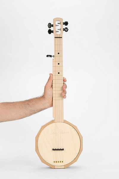Wooden 5-String Banjo - Urban Outfitters