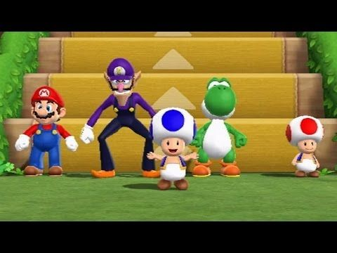 Mario Party 9 Step It Up Free For All Minigames