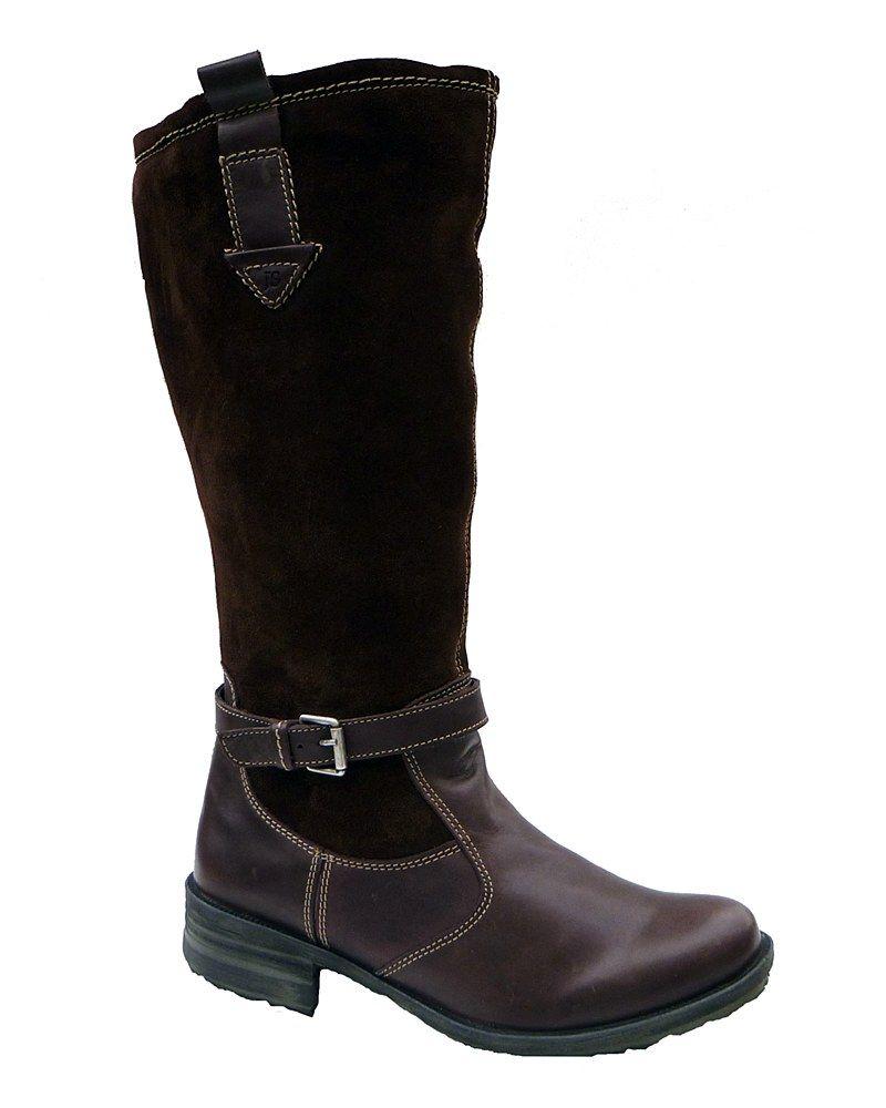 Josef Seibel Sandra 06 93694 Ladies Buckle Detail Long Casual Boot - Robin  Elt Shoes http
