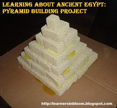 Learners in Bloom: Ancient Egypt Unit: Building a Pyramid