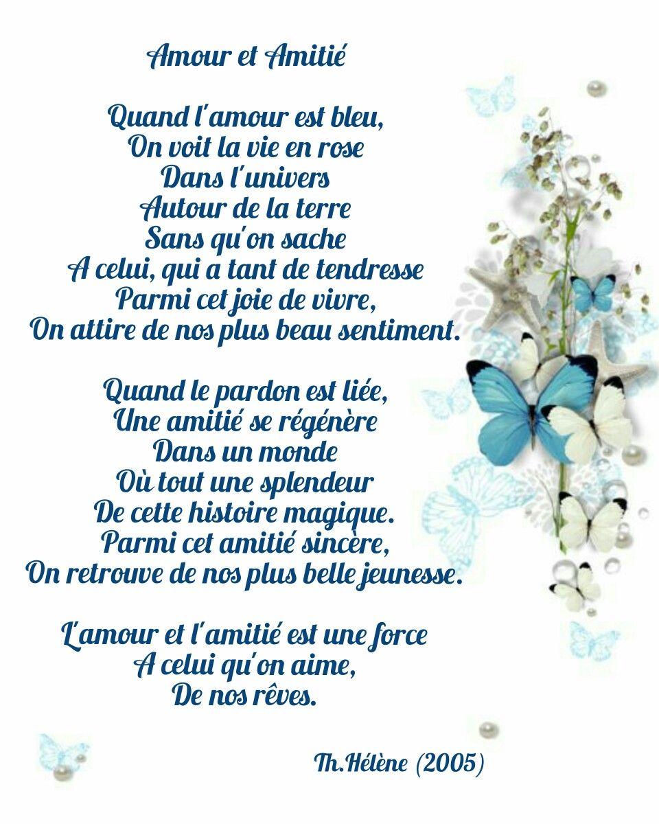 Epingle Par Th Helene Sur Poesies Par Moi Poems By Me Amitie Amour Joie De Vivre Tendresse
