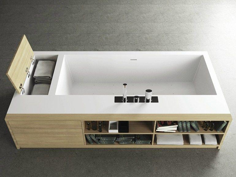 Bagno Rettangolare ~ Vasca da bagno rettangolare tank square book by moma design by