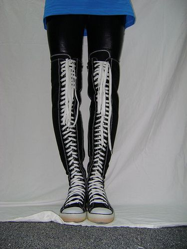 926400adc6526 converse lookalike thigh high by allstarfan