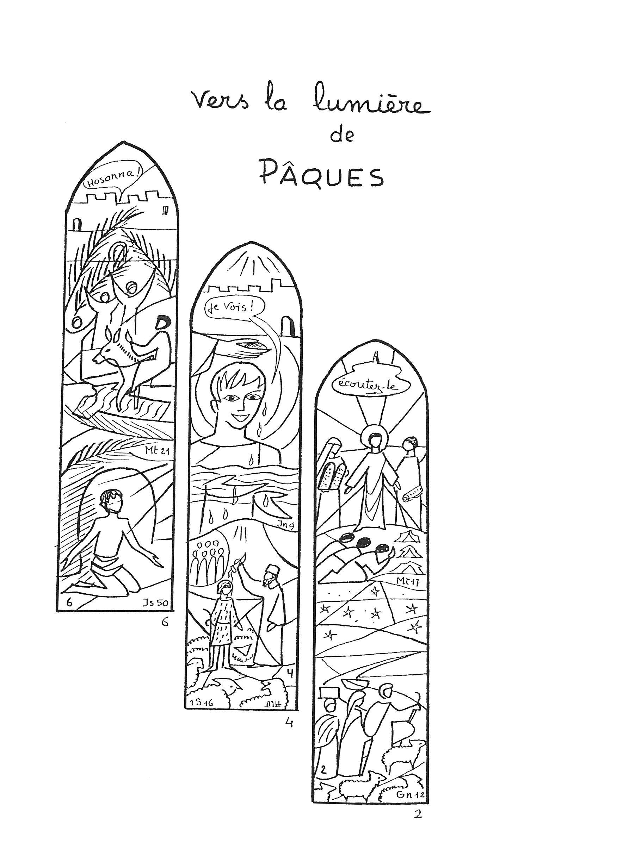Activit s pour le car me croix bougie chemin cube dessins veilleuse katecheze - Coloriage catholique ...