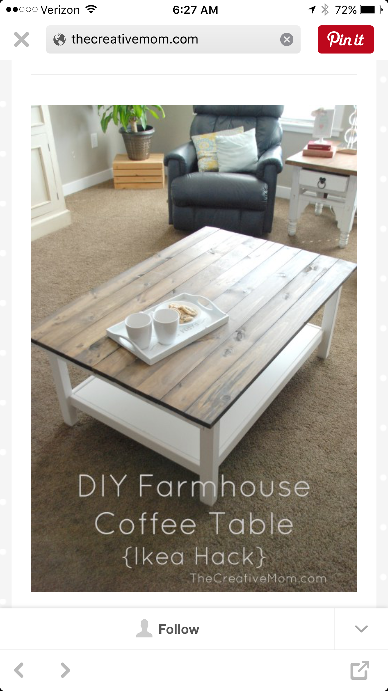 NOTE: Ideas For Dining Room Table Renovation U003du003d Ikea Hack Planked Coffee  Table