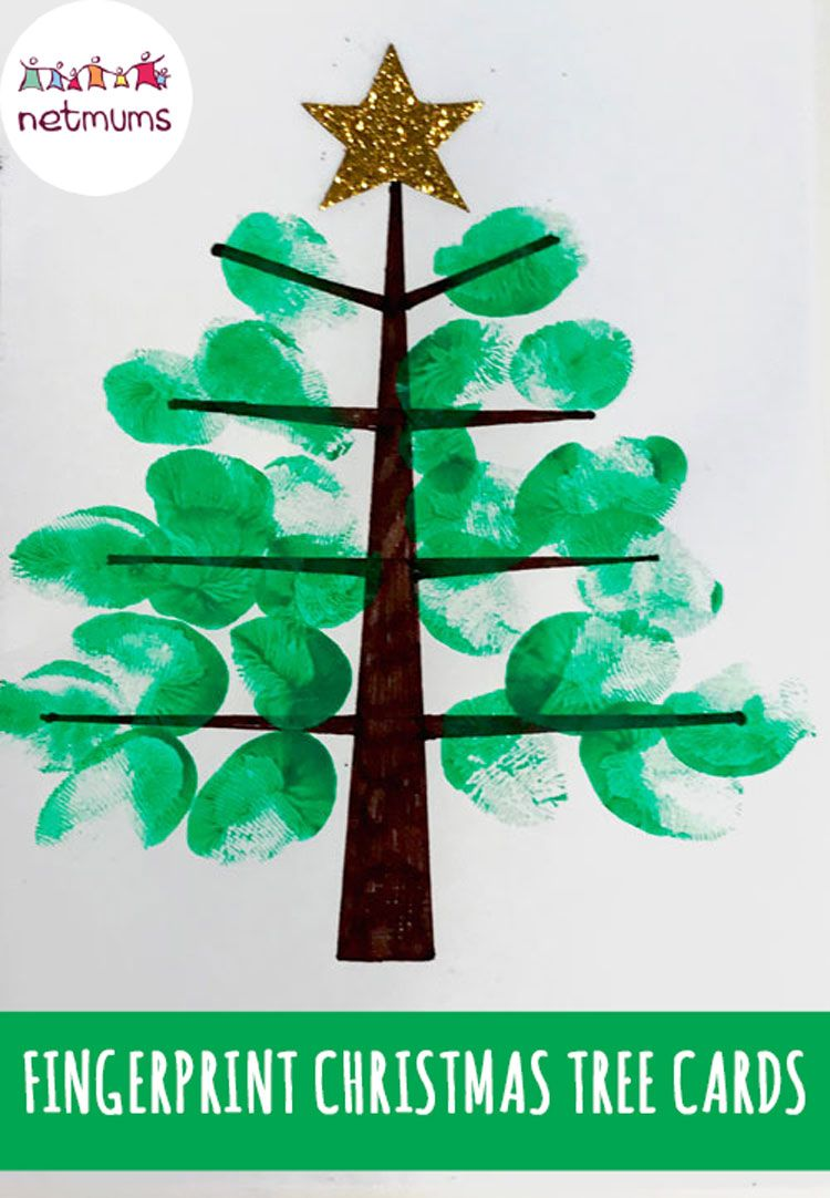 8 Finger Painting Christmas Crafts For Your Kids Kid Stuff Pinterest