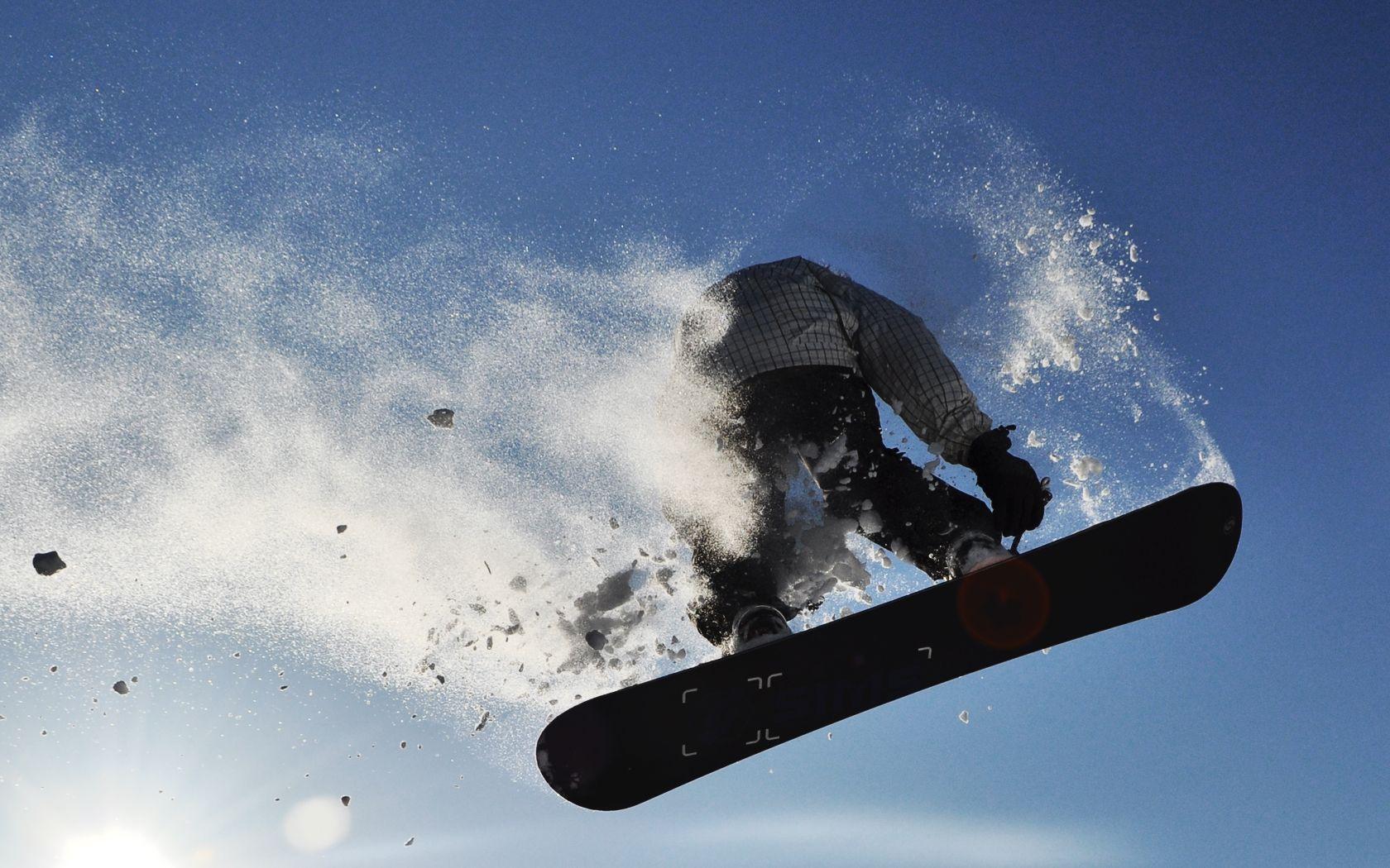 Snowboarding Fresh New Hd Wallpaper Jpg 1680 1050 Snowboarding Snow Surfing Sports Wallpapers