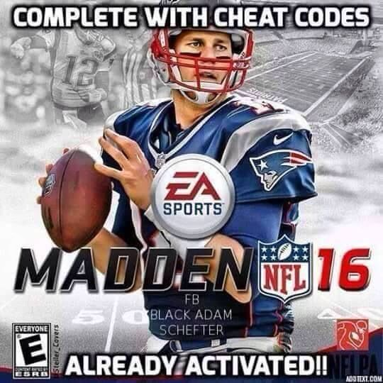 <b>Madden 16</b>: Complete with <b>Cheat Codes</b> | Hate the Patriots | NFL ...