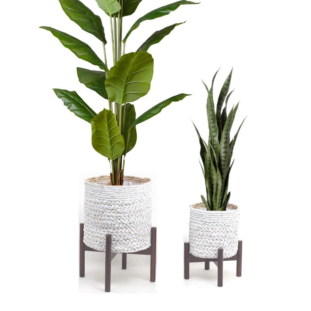 Our Biba Planter comes in two sizes! Beautifully braided