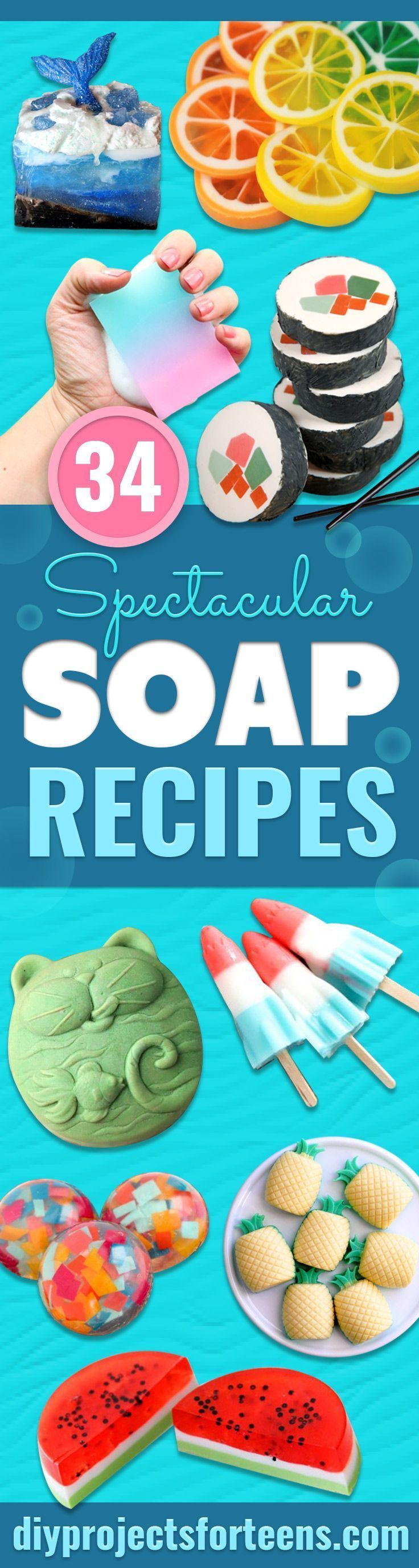 34 spectacular diy soap recipes diy soap recipe without