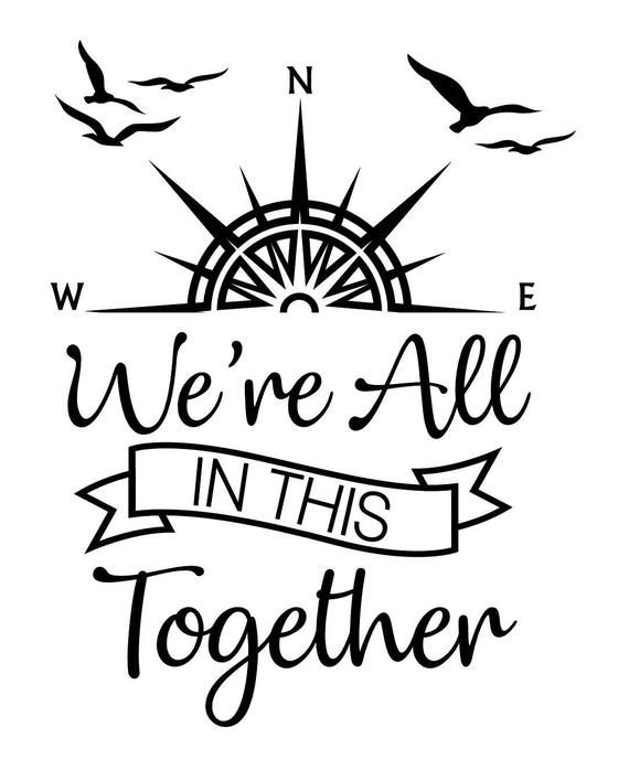 Download We're All In This Together SVG file   Etsy in 2020   Baby ...