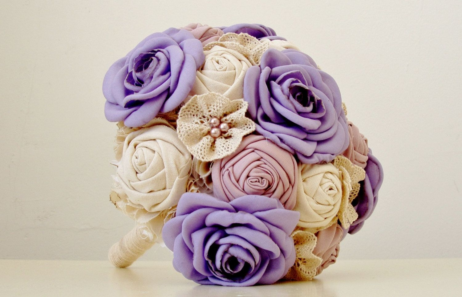 Fabric flower bouquet brooch bouquet wedding fabric bridal bridesmaid bouquets made with fabric flowers fabric flower bouquet flower wedding bouquet fabric izmirmasajfo
