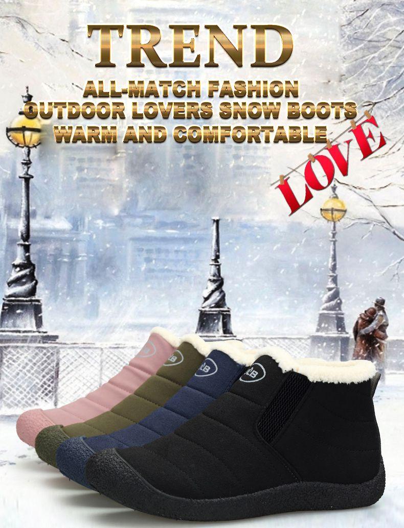 AMAGINMNI Winter Shoes Men Couple Unisex Snow Boots Warm Fur Inside Non-slip Bottom Keep Warm Casual Boots Men Waterproof Boots   Read more at The Bargain Paradise : https://www.nboempire.com/products/amaginmni-winter-shoes-men-couple-unisex-snow-boots-warm-fur-inside-non-slip-bottom-keep-warm-casual-boots-men-waterproof-boots/