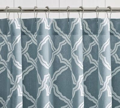 Pb Look Alikes Pottery Barn Kendra Trellis Shower Curtain