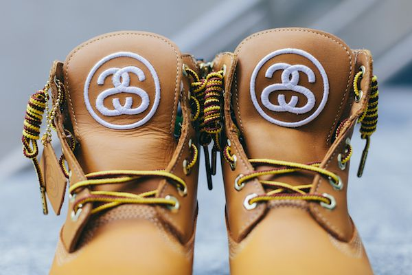 """crispculture: """"Stussy x Timberland Classic Boots - Order Online at Urban Outfitters """""""