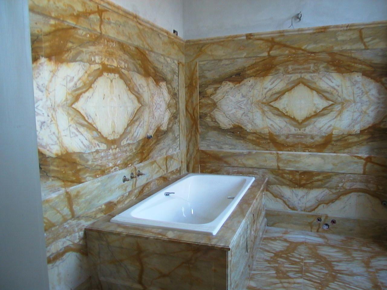 Bagno giallo ~ Bagno in giallo siena statuary marble and design