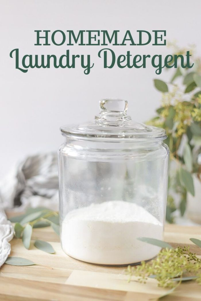 Homemade Laundry Detergent Learn how to make homemade laundry detergent with this simple and natural tutorial Natural DIY laundry detergent is really inexpensive and heal...