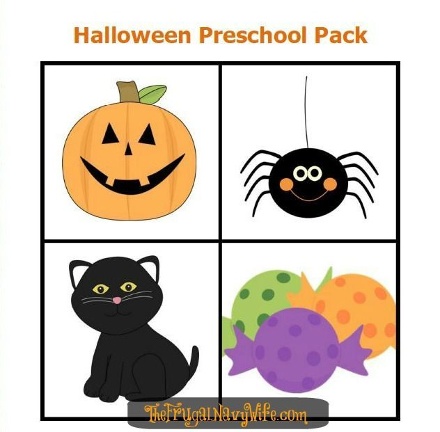 Preschool Halloween Printable Pack | Preschool halloween and ...