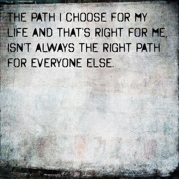 Quotes And Sayings: Path Quotes And Sayings. QuotesGram
