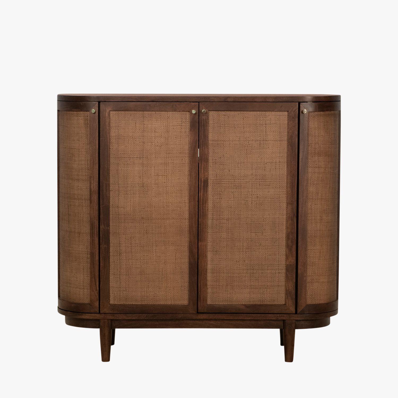Makati Porto Storage Cabinet Shop Cane Furniture Dear Keaton In 2020 Acacia Wood Sideboard Storage Cabinet Cane Furniture
